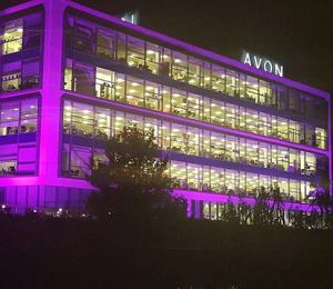 Avon Head Office in the PINK to support Breast Cancer Awareness. | Join Avon